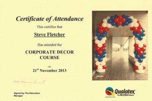 Corporate Decor Course